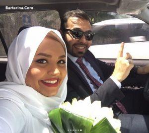 عکس های عروسی فریبا باقری مجری رادیو و تلویزیون + فیلم