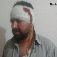 فیلم ضرب و شتم مدیر خبرگزاری فارس در قزوین توسط حامین روحانی