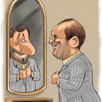 واکنش احمدی نژاد به دفاع قالیباف و رئیسی در مناظره از او