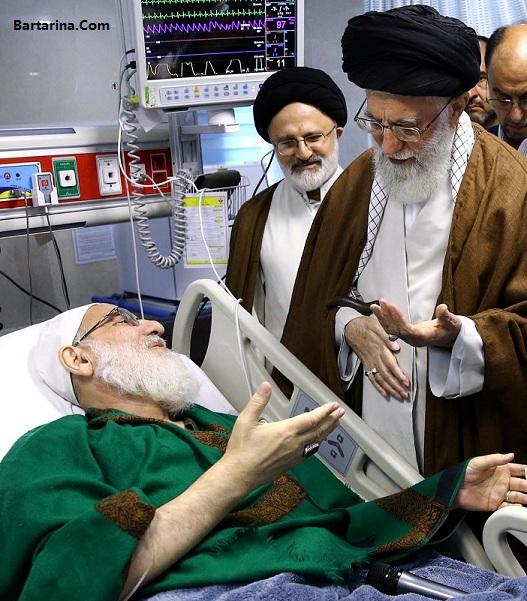 درگذشت آیت الله هاشمی شاهرودی 25 اردیبهشت 96 شایعه یا واقعیت