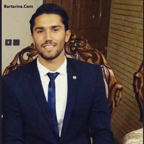 ازدواج سید حسین حسینی بازیکن استقلال + عکس عروسی