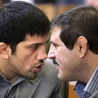 فیلم درگیری فیزیکی علیرضا دبیر و عباس جدیدی + دلیل دعوا