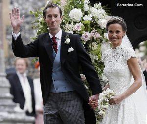 فیلم عروسی پیپا میدلتون خواهر کیت میدلتون پرنس جورج و شارلوت