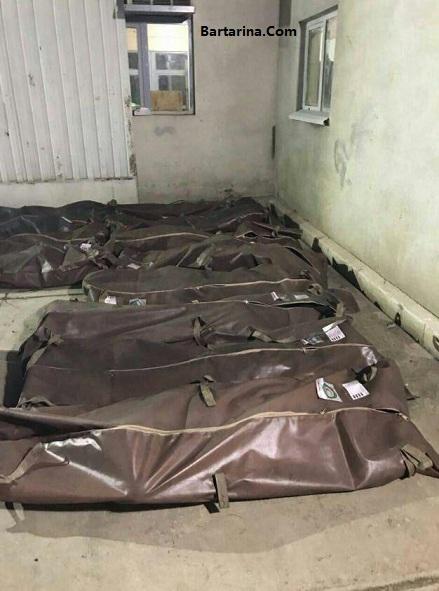 عکس جنازه های معدنچیان زغال سنگ چشمه یورت آزادشهر گلستان