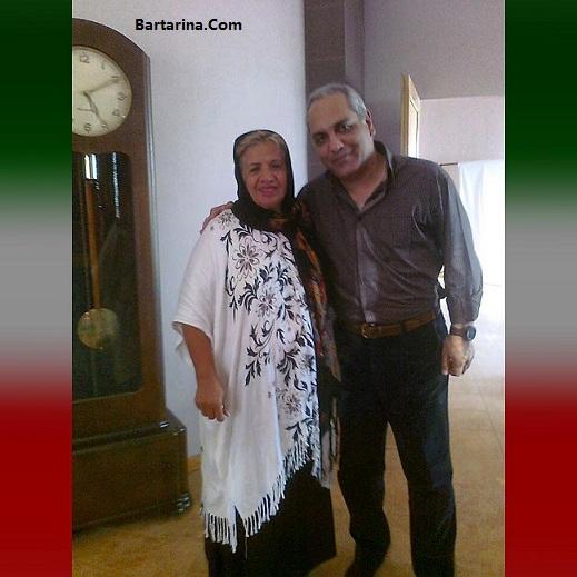 عکس جنجالی لو رفته مهران مدیری و گیتی معینی در کنار هم