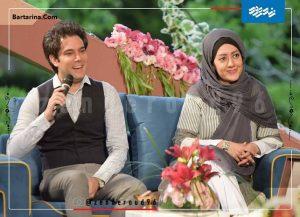عکس امیرعلی نبویان و همسرش بهار نوروزپور در زنده رود + فیلم