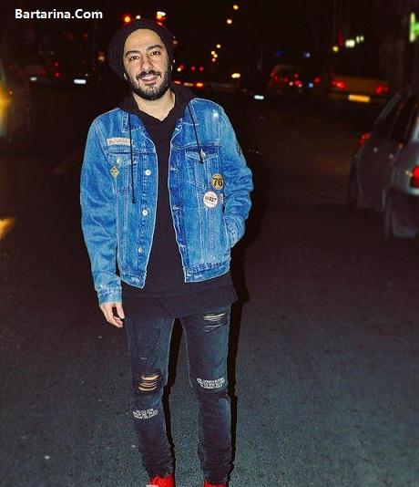 عکس جنجالی شلوار پاره نوید محمدزاده بازیگر سینما که سوژه شد