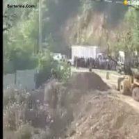 فیلم حادثه برای عوامل سریال پایتخت ۵ + واژگونی ماشین