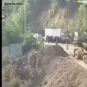 فیلم حادثه برای عوامل سریال پایتخت 5 + واژگونی ماشین
