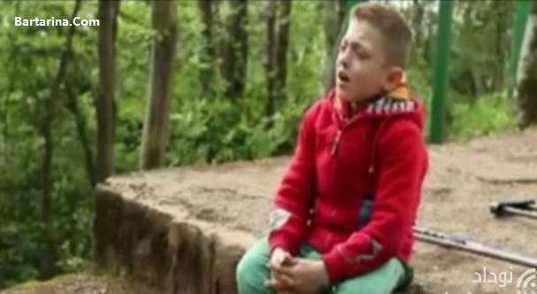 فیلم خوانندگی پوریا آب خشک پسر 14 ساله معلول آستارایی
