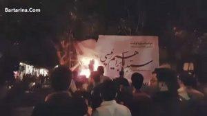 فیلم حمله به ستاد ابراهیم رئیسی در شیراز 27 اردیبهشت 96