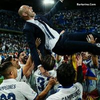 فیلم جشن قهرمانی رئال مادرید لالیگا اسپانیا ۳۱ اردیبهشت ۹۶