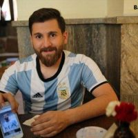 دعوتنامه لیونل مسی برای رضا پرستش بدل ایرانی خود + عکس