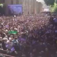 فیلم سخنان روحانی درباره دلواپسان در خرم آباد ۲۴ اردیبهشت ۹۶