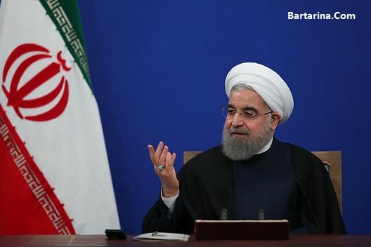 فیلم اولین کنفرانس خبری رئیس جمهور روحانی دوشنبه 1 خرداد 96