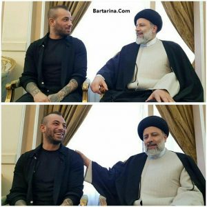 فیلم دیدار ابراهیم رئیسی با امیر تتلو در مشهد 27 اردیبهشت 96