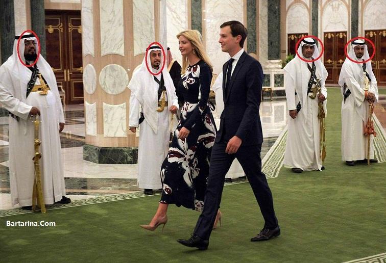 فیلم رقص شمشیر ترامپ در عربستان + عکس ملانیا و ایوانکا ترامپ