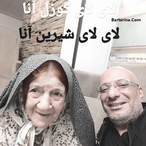 درگذشت مادربزرگ امیر جعفری + عزادار شدن امیر جعفری