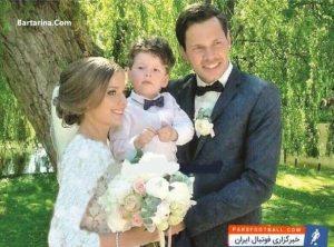 عکس عروسی دانیال داوری با همسرش کریستینا + مراسم ازدواج