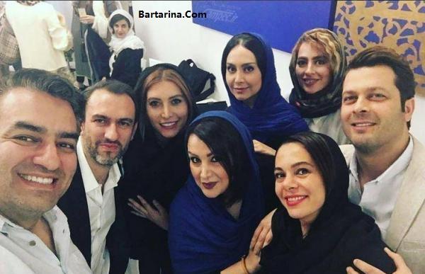 عکس های مراسم افتتاحیه رستوران دلیجان فریبا نادری + فیلم