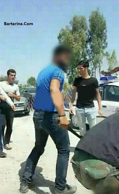 فیلم قمه کشی و کتک زدن پلیس مازندران بخاطر موتورگیری + عکس