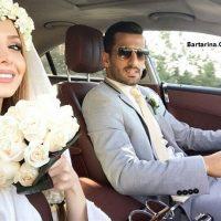 ازدواج احسان حاج صفی بازیکن سپاهان + عروسی حاج صفی و همسرش