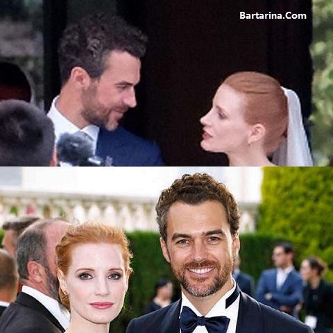 فیلم مراسم عروسی جسیکا چستین + ازدواج جسیکا چستین