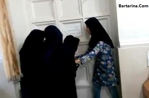 فیلم حبس دانشجویان اهوازی در خوابگاه بدون کولر برای اعتراض