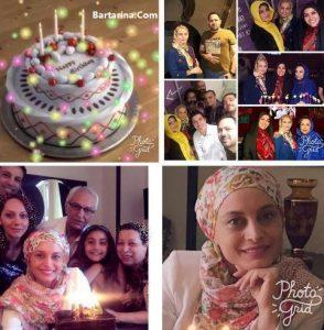 فیلم جشن تولد 47 سالگی مریم کاویانی بازیگر تلویزیون تیر 96