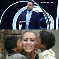 عکس های بی حجاب نرگس کلباسی مهمان برنامه ماه عسل ۱۵ خرداد ۹۶