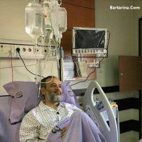 بستری شدن حجت الاسلام پناهیان در بیمارستان ۳ تیر ۹۶ + عکس
