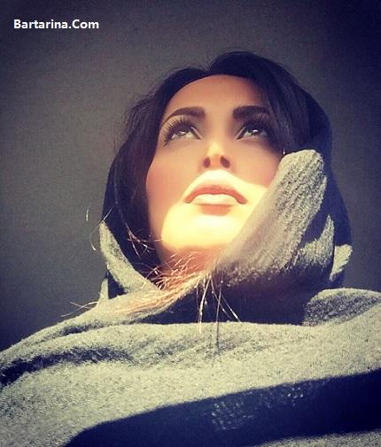 عکس بد حجاب پاوان افسر بازیگر همسر سهراب سریال زیر پای مادر