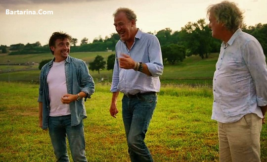 Richard Bartarina.com  - فیلم تصادف ریچارد هموند مجری معروف برنامه تخت گاز