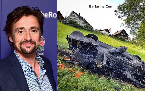Richard Bartarina.com 0 - فیلم تصادف ریچارد هموند مجری معروف برنامه تخت گاز