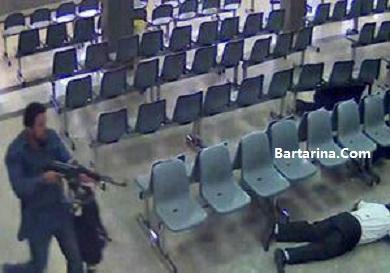 فیلم دوربین مداربسته مجلس از حمله داعش و حادثه تروریستی