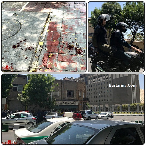 فیلم تیراندازی حمله تروریستی مجلس و حرم امام خمینی و جماران
