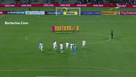 فیلم توهین بازیکنان فوتبال عربستان به حمله تروریستی ایران