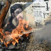 عکس ۱۸+ جنازه ابوبکر بغدادی داعش + فیلم جسد ابوبکر بغدادی