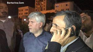 فیلم ممانعت احمدی نژاد بیمارستان بقیه الله برای عیادت بقایی