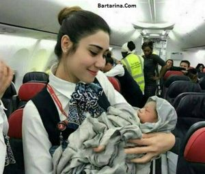 دختران ایرانی بی حجاب در ایرلاین عربی + آگهی جذب دختران