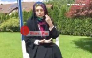 فیلم واکنش آزاده نامداری به عکس های جنجالی بی حجاب در سوئیس
