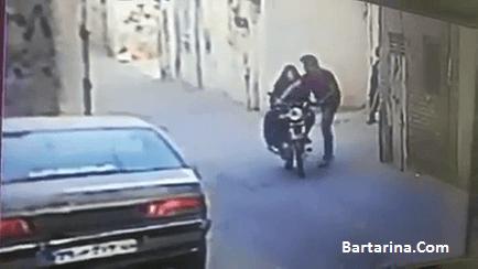 فیلم دزدیدن بچه در خیابان انقلاب اصفهان 6 مرداد 96
