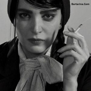 عکس سیگار کشیدن بهنوش طباطبایی + بهنوش طباطبایی سیگاری