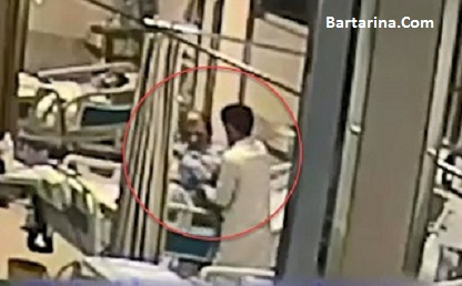 فیلم ضرب و شتم و کتک زدن بیمار بخش ICU بیمارستان سینا تبریز