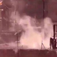 فیلم ۱۸+ خودکشی دسته جمعی نیروهای داعش در کنار دجله
