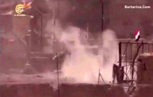 فیلم 18+ خودکشی دسته جمعی نیروهای داعش در کنار دجله