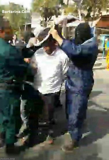 فیلم اعدام قاتل آتنا اصلانی اسماعیل جعفرزاده در اردبیل