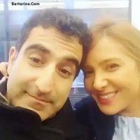 فیلم کرم و ملخ خوردن فرانک سلیمانی همسر رضا روحانی