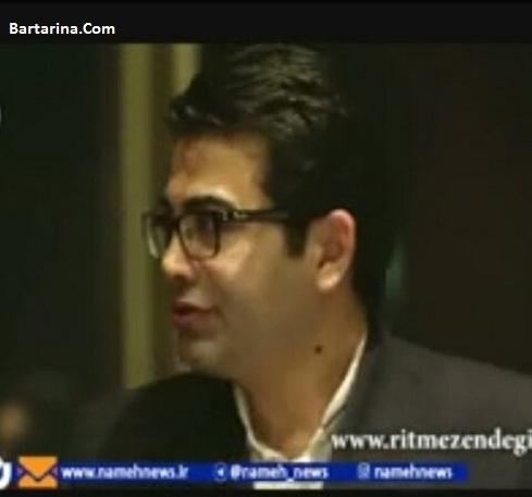 فیلم صحبت های فرزاد حسنی درباره کشف حجاب آزاده نامداری