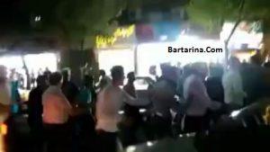 فیلم گروگانگیری نافرجام در خیابان امام رضا مشهد 9 مرداد 96
